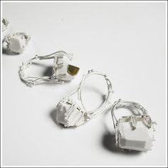 Pauline Edie makes the loveliest porcelain & silver jewellery