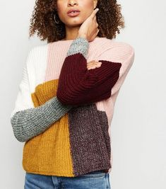 Discover the latest trends at New Look. New Look, Knitwear, Jumper, Latest Trends, Turtle Neck, Pullover, Knitting, Sweaters, Inspiration