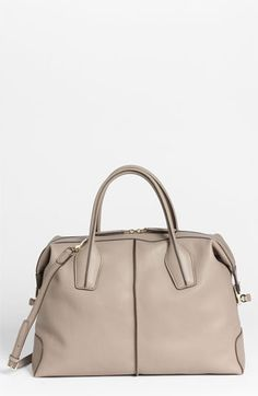Tod's 'D-Styling - Medium' Leather Satchel