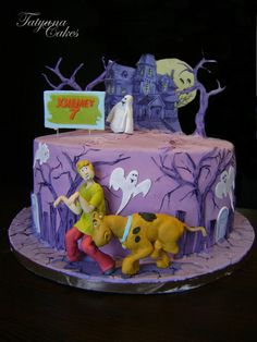 Scooby doo cake - by tatyana_cakes @ CakesDecor.com - cake decorating website