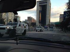 """16 de mar. de 2014 / """"(((ô►TANQUETAS EN DIRECCION A CHACAO"""""""