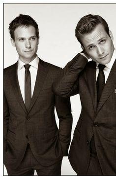 he and she: A razão pela qual gosto de suits : Harvey