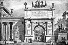 I like architecture. I like classical architecture, really anything built before the This is an alterante history forum, so its time to post. Architecture Mapping, Architecture Drawings, Classical Architecture, Historical Architecture, Art And Architecture, Architecture Details, Arch Of Titus, Urban Design Plan, Ancient Rome