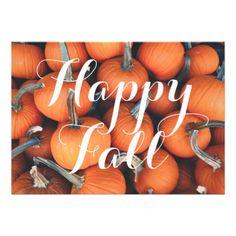 halloween fall autumn holidays pumpkin fun card - autumn gifts templates diy customize