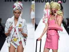 5 things Jeremy Scott said before his all-Barbie Moschino show - Telegraph