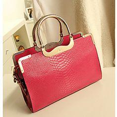 Lady Fashion High Quality Leather Tote (Fuchsia) http://www.dpbolvw.net/click-7500981-11167260?url=http%3A%2F%2Fwww.lightinthebox.com%2Fno%2Flady-fashion-high-quality-leather-tote-fuchsia_p930342.html&cjsku=930342