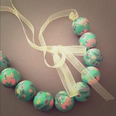 I just discovered this while shopping on Poshmark: Mint beaded floral necklace. Check it out!  Size: OS