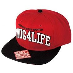 Thug 4 Life Tupac Shakur 2pac Snapback Hat Cap Officially licensed product Bioworld Accessories Hats