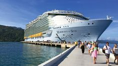 I recently had a chance to visit two of the Caribbean destinations developed at least in part by Royal Caribbean Cruises Ltd. One, the Haitian private port of call of Labadee, exceeded my expectations. The other, in Falmouth, Jamaica, did not.