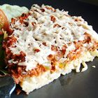 Spaghetti Pie - My sister makes a really good & easy version of this by just using her favotite spaghetti sauce. I like to add mushrooms too.