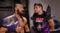 """Neville suggests that TJP """"tread carefully"""" on WWE Raw when it pertains to Austin Aries and WWE Payback..."""