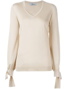 BLUMARINE V-neck jumper. #blumarine #cloth #jumper