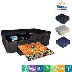 HP Deskjet 3522 e-All-in-One Printer/Copier w/ Bonus Printer Cover Value Bundle