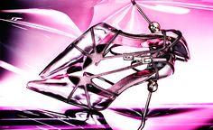 Zapatos metalizados de Roger Vivier (1.100€). © Lucio Convertini