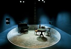 Play Strindberg. Ustinov Theatre Bath. Scenic design by Max Jones. 2014
