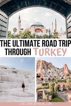 Check out the ultimate guide to exploring the best Turkey travel destinations on an epic Turkey road trip adventure! #turkeytravel #travel #cappadocia #istanbul #pamukkale #ephesus | Turkey travel road trips | Turkey travel beautiful places | Turkey travel guide | Turkey travel Cappadocia | Turkey travel Istanbul | best places to visit in Turkey | Turkey travel itinerary | Turkey travel Pamukkale | Turkey travel Ephesus | Turkey travel summer | Turkey travel Instagram | Turkey travel bucket list