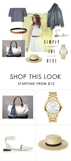 """""""Simply The Best"""" by poepoepurses ❤ liked on Polyvore featuring Movado, Senso, Rusty and Salvatore Ferragamo"""