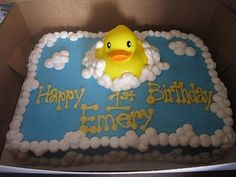 Great idea for Harry's 1st Birthday cake.