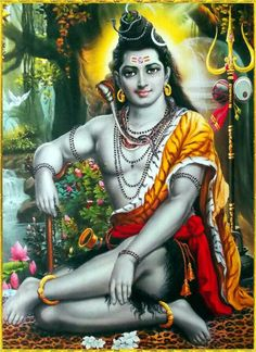 Lord Shiva or Siva is one the principal deities in Hinduism. Here is a collection of Lord Shiva Images and HD Wallpapers categorized by various groups. Shiva Hindu, Shiva Art, Hindu Deities, Hindu Art, Durga Puja, Lord Shiva Pics, Lord Shiva Hd Images, Lord Shiva Family, Om Namah Shivaya
