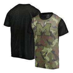 Michigan Wolverines Fanatics Branded Blast T-Shirt - Camo