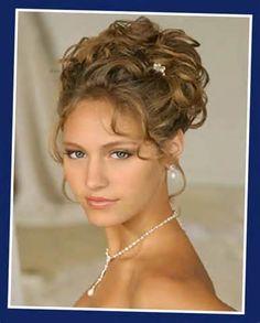 Elegant Wavy Wedding Updos Hairstyles | Updo hairstyles for long hair