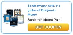 NEW Printable Coupons: Benjamin Moore, Kotex and More on http://www.icravefreebies.com