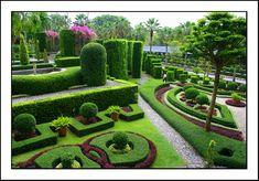 Tropical garden - Nong Nooch, Thailand