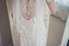 Azalea by Jenny Packham - A Touch of Glamour for a Spring Barn Wedding