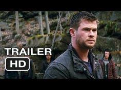 Red Dawn (remake) Trailer.  Chris Hemsworth, Josh Peck, and Josh Hutcherson.  I think it will be a good remake.