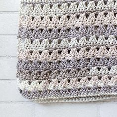 "You will love this wonderful throw! Designed by talented crochet designer Krista Cagle. ""Alissa Easy Throw"" is easy and you can make it very quick."