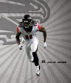 Julio Jones Falcons Football, Best Football Team, Falcons Rise Up, Julio Jones, Living Legends, Atlanta Falcons, Athletes, Confetti, Goat