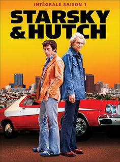 Starsky & Hutch was an American television series about two Californian policemen, Starsky played by Paul Michael Glaser and Hutch played by David Soul. Fans loved the gritty, often violent plotlines, comic banter, and particularly the close friendship th Paul Michael Glaser, Starsky & Hutch, V Drama, Comme Des Freres, Mtv, Tv Sendungen, Tv Vintage, Vintage Movies, Mejores Series Tv