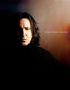 "Harry Potter - Severus Snape/Alan Rickman ""Snape knew more curses when he arrived at Hogwarts than half the kids in seventh year. Albus Dumbledore, Snape Harry Potter, Professor Severus Snape, Harry Potter Severus Snape, Severus Rogue, Alan Rickman Severus Snape, Harry Potter Love, Harry Potter Characters, Harry Potter World"
