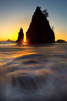 Rialto Beach - Olympic Peninsula, Washington