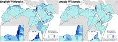 Who represents the Arab world online? Mapping and measuring local knowledge production and representation in the Middle East and North Africa