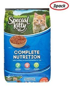 Special Kitty Complete Nutrition Dry Cat Food (24 lb.(Pack of 3)) >>> Continue with the details at the image link. #CatTreats