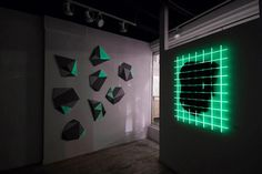 "Cyrcle Questions Reality in Glow-in-the-Dark Exhibit ""NOTHING EXISTS!"" 