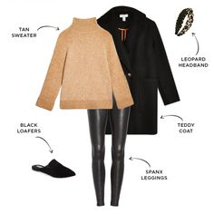 winter outfits with leggings 6 Ways to Style Spanx Faux Leather Leggings Leather Leggings Outfit, Spanx Faux Leather Leggings, Leggings Style, Pants Outfit, Leather Pants, Mom Outfits, Fall Outfits, Casual Outfits, Girly Outfits