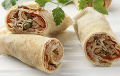 Γαστρονόμος: Δροσερές μπουκίτσες αραβικής πίτας με καβουρόψιχα.