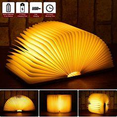 LED Buchlampe für eine schöne Raumbeleuchtung.    #Buch #LED #Deko  #affiliate Lumiere Led, Led Licht, Lampe Led, Decoration, Usb, Table Lamp, Lighting, Paper, Mini