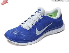 Today\u0026#39;s Deals Pure Platinum Hyper Blue White Men\u0026#39;s Nike Free 3.0 V5 Running Shoes Fashion Shoes
