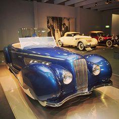 Bulbous Beauty, a 1939 Delage Type D8-120 with Figoni et Falaschi bodywork. #delage #tbt #throwbackthursday #frenchcars #vintage