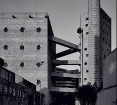 SESC Pompéia São Paulo, Brazil Architect: Lina Bo Bardi Photo: © Pedro Kok