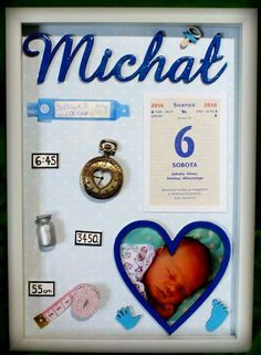 Michał Diy And Crafts, Crafts For Kids, Exploding Boxes, Family Crafts, Shadow Box, Kids And Parenting, Gifts For Him, Baby Room, Kids Room