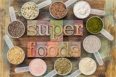 50 Clean Eating Super Foods - The ultimate clean eating shopping list!  #cleaneating