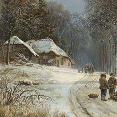 Winterlandschap, Barend Cornelis Koekkoek, 1835 - 1838 - Zoeken - Rijksmuseum