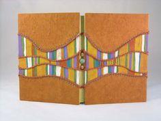 savana handmade notebook sketchbook or photo book por kucita