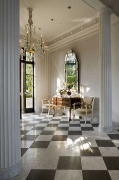 Robert AM Stern Architects designed this Private Residence in California that shows their affinity for classical architecture.