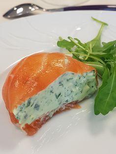 La recette des dômes au saumon fumé et fromage frais Tupperware