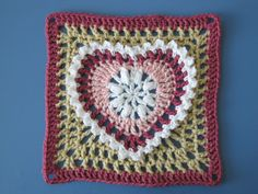 Ravelry: Grandma's Heart Square pattern by Carola Wijma. Thanks so for the share xox